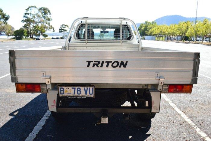2008 Mitsubishi Triton GL ML MY08 WHITE