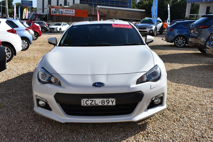 2015 Subaru BRZ Z1 MY15 Crystal White