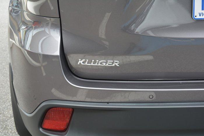 2019 Toyota Kluger GXL GSU55R Four Wheel Drive Predawn Grey