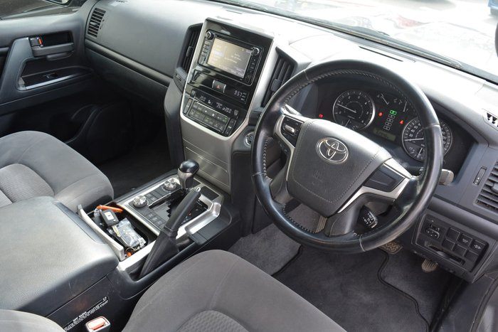 2018 Toyota Landcruiser GXL VDJ200R 4X4 Dual Range Graphite