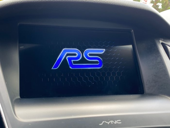 2016 Ford Focus RS LZ Four Wheel Drive Blue