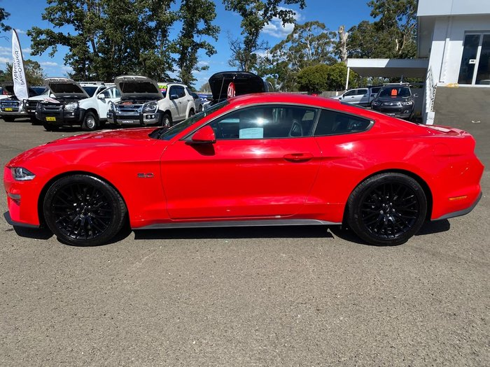 2018 Ford Mustang GT FN MY19 Red