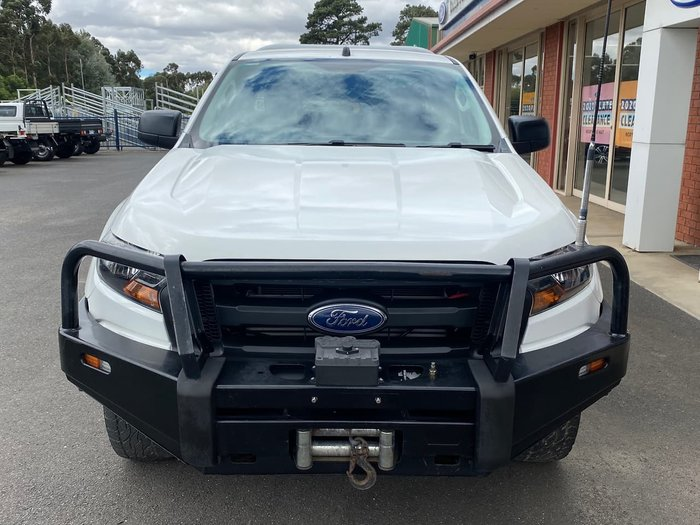 2016 Ford Ranger XL PX MkII 4X4 Dual Range White
