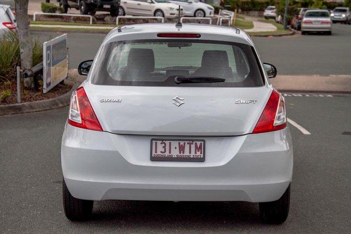 2011 Suzuki Swift GL FZ White