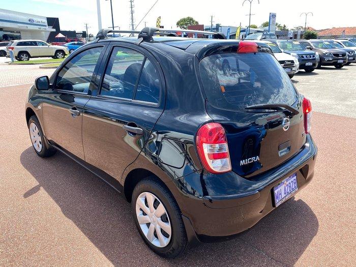 2013 Nissan Micra ST K13 MY13 Black