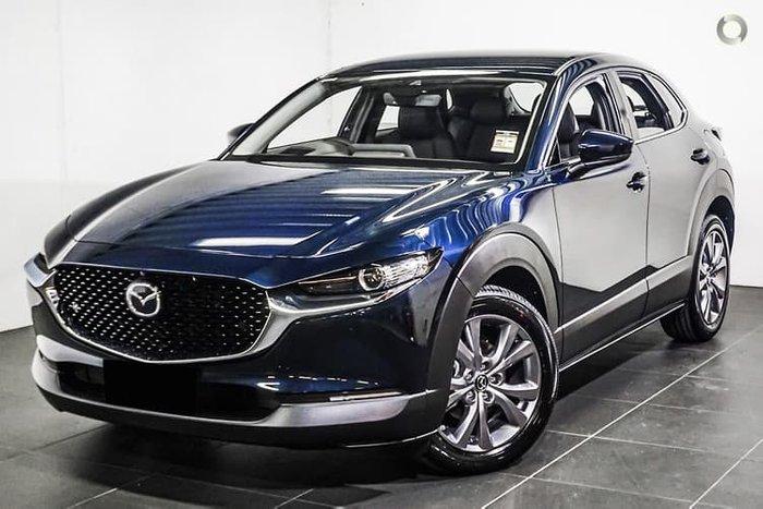 2020 Mazda CX-30 G25 Touring DM Series Deep Crystal Blue