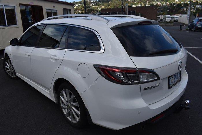 2011 Mazda 6 Touring GH Series 2 MY12 White