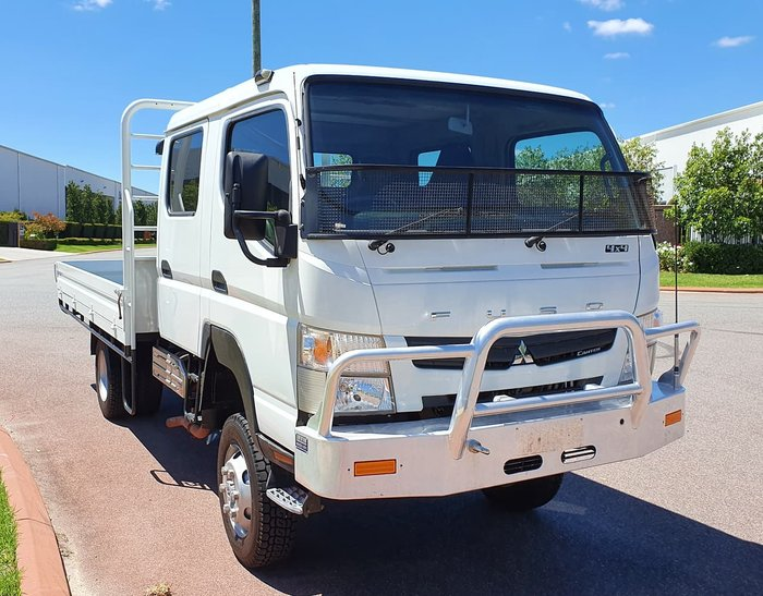 2016 FUSO FG CANTER WHITE