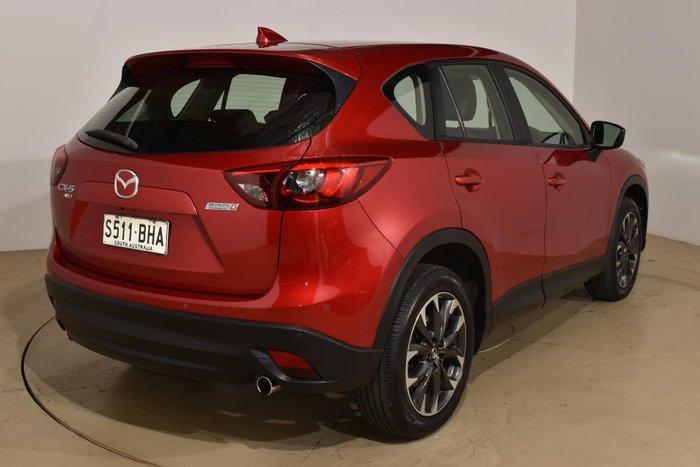 2015 Mazda CX-5 Akera KE Series 2 4X4 On Demand Soul Red