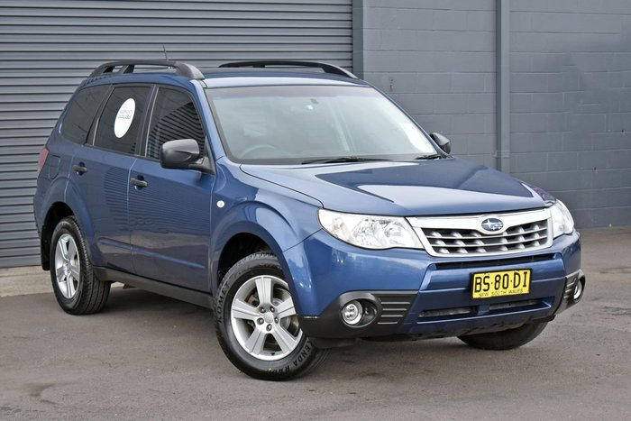 2011 Subaru Forester X S3 MY11 Four Wheel Drive Marine Blue Pearl