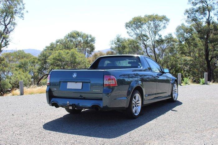 2010 Holden Ute SV6 VE MY10 Green