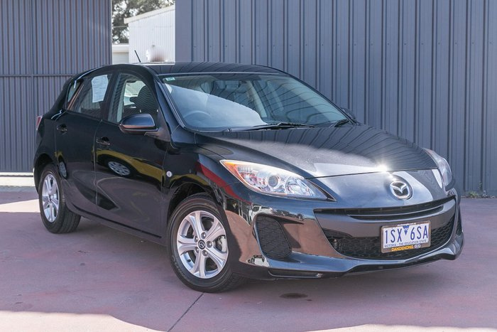 2013 Mazda 3 Neo BL Series 2 MY13 Black