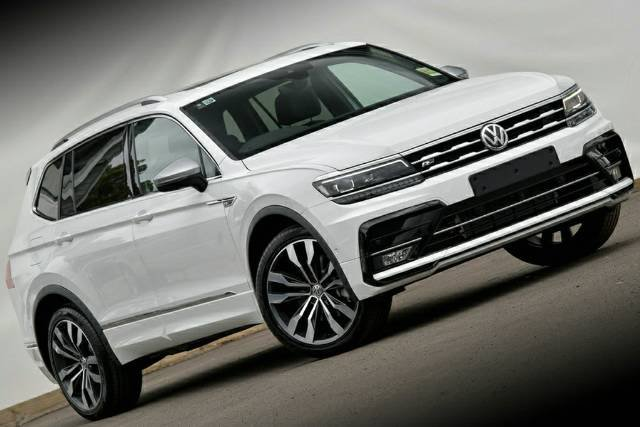 2020 Volkswagen Tiguan 162TSI Highline Allspace 5N MY20 Four Wheel Drive PURE WHITE
