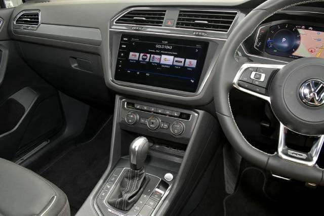 2020 Volkswagen Tiguan 162TSI Highline Allspace 5N MY20 Four Wheel Drive REFLEX SILVER