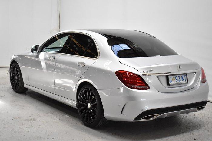 2015 Mercedes-Benz C-Class C250 W205 Silver