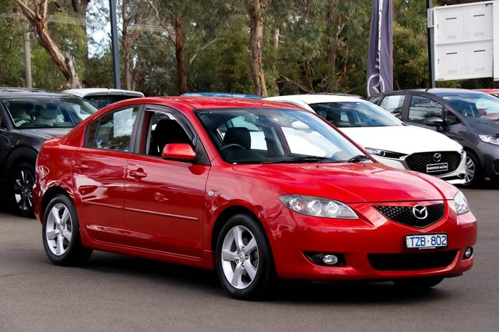 2006 Mazda 3 Maxx Sport BK Series 1 Velocity Red