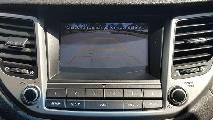 2017 Hyundai Tucson Active TL2 MY18 4X4 On Demand Grey