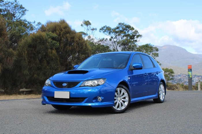 2007 Subaru Impreza WRX G3 MY08 Four Wheel Drive Blue