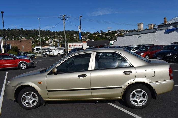 2001 Mazda 323 Protege Shades BJ II Gold