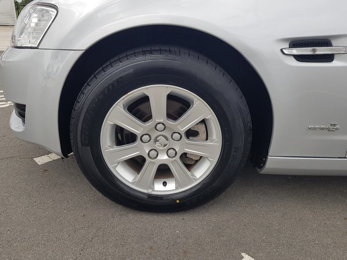 2011 Holden Commodore Omega VE Series II Silver