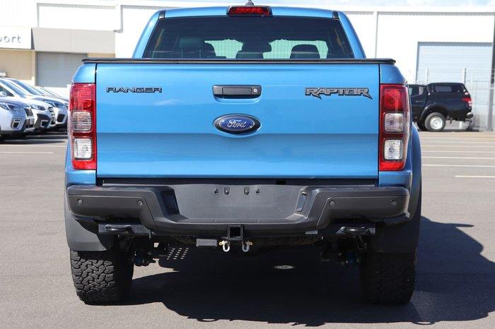 2020 Ford Ranger Raptor PX MkIII MY20.25 4X4 Dual Range Blue