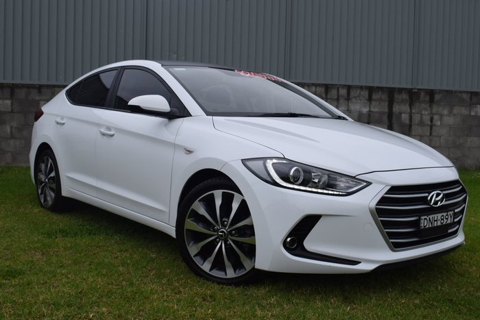 2016 Hyundai Elantra Active AD MY17 Polar White