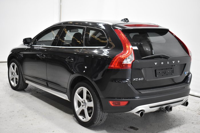 2013 Volvo XC60 D5 R-Design MY13 Four Wheel Drive Black Sapphire