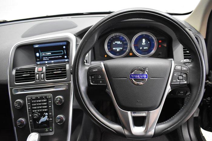 2013 Volvo XC60 D5 R-Design MY13 Four Wheel Drive Black Sapphire