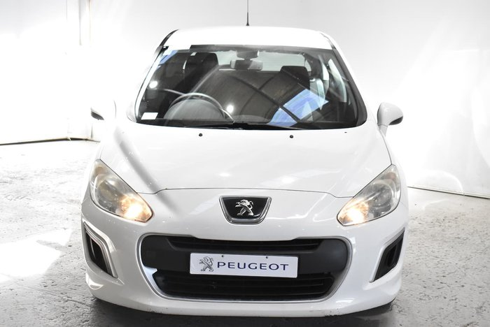 2013 Peugeot 308 Access T7 MY13 Bianca White