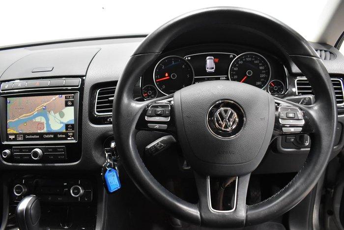 2016 Volkswagen Touareg 150TDI Element 7P MY16 Four Wheel Drive Canyon Grey
