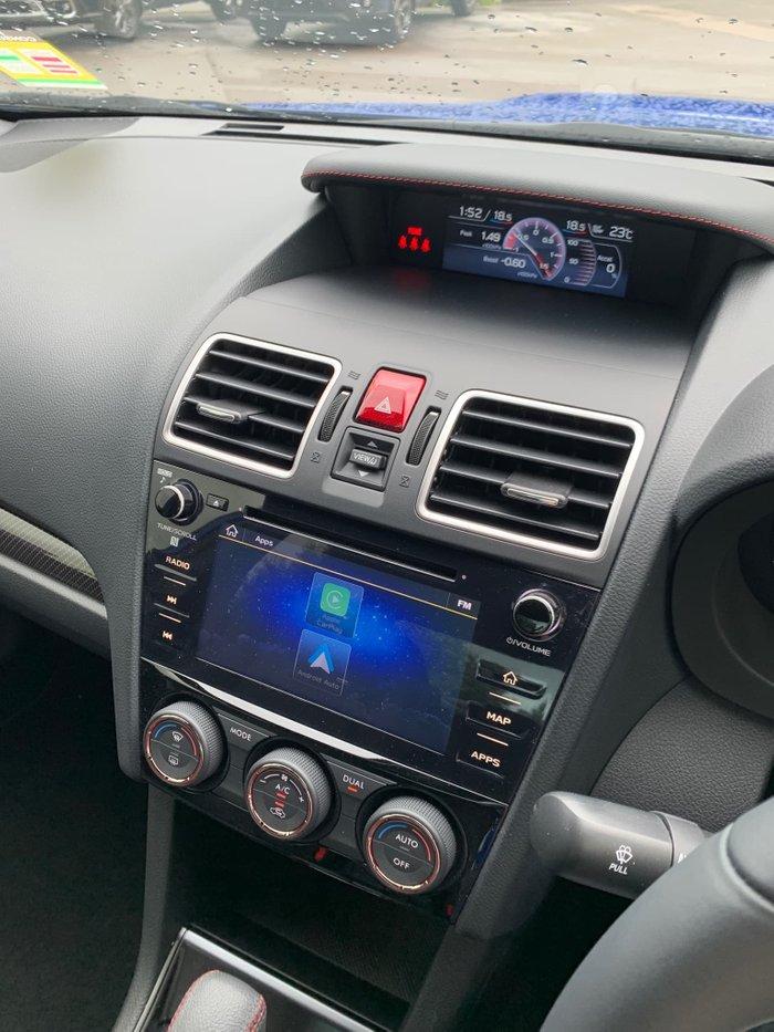 2020 Subaru WRX Premium V1 MY21 Four Wheel Drive WR Blue