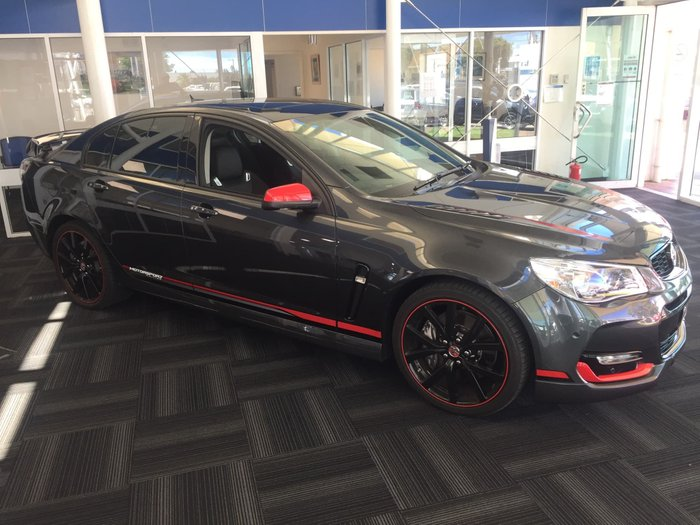 2017 Holden Commodore Motorsport Edition VF Series II MY17 Son of a Gun Grey