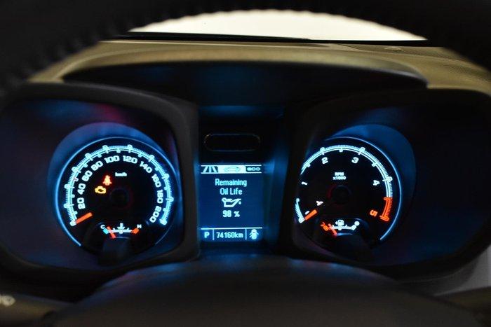 2015 Holden Colorado LTZ RG MY15 4X4 Dual Range Black Sapphire