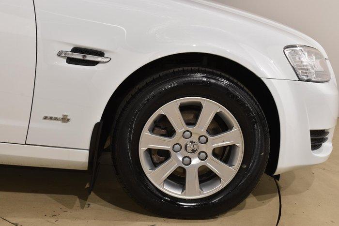 2011 Holden Commodore Omega VE Series II Heron White