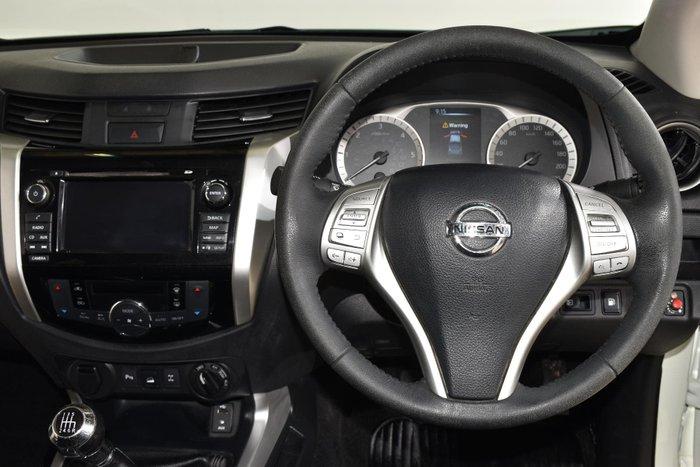 2015 Nissan Navara ST-X D23 4X4 Dual Range White Diamond