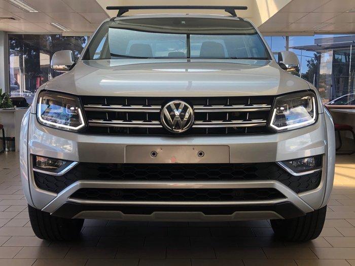 2018 Volkswagen Amarok TDI580 Ultimate 2H MY19 4X4 Constant Reflex Silver