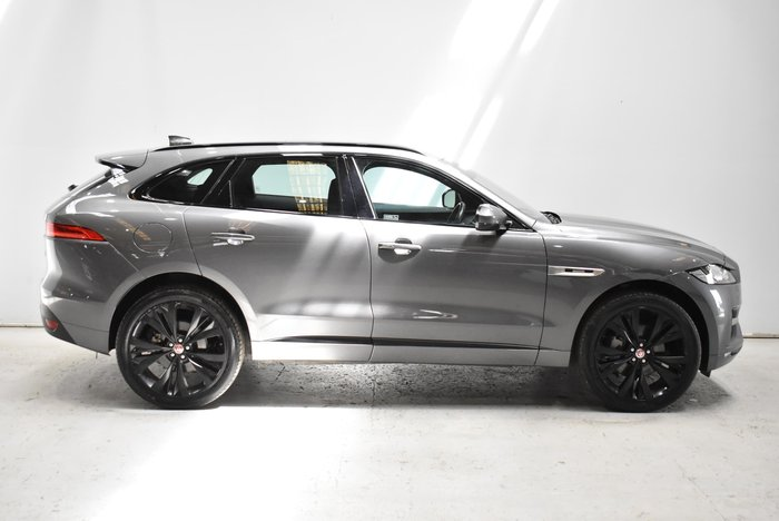 2016 Jaguar F-PACE 30d R-Sport X761 MY17 Four Wheel Drive Ammonite Grey