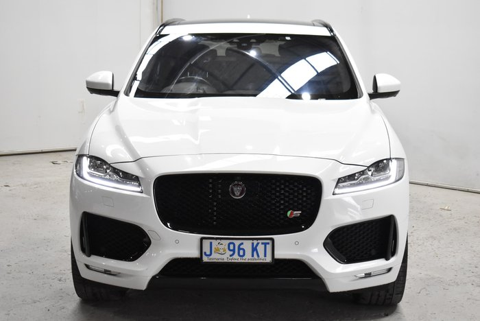 2016 Jaguar F-PACE 30d S X761 MY17 Four Wheel Drive Polaris White