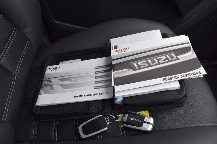 2018 Isuzu MU-X LS-T MY18 Titanium Silver