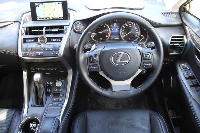 2016 Lexus NX NX200t Sports Luxury AGZ15R 4X4 On Demand White