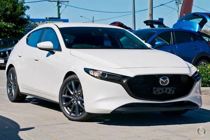 2020 Mazda 3 G20 Evolve BP Series Snowflake White Pearl