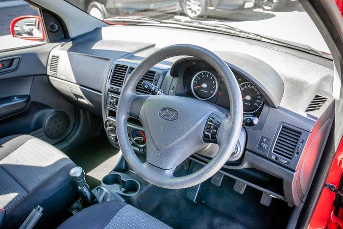 2010 Hyundai Getz S TB MY09 Red