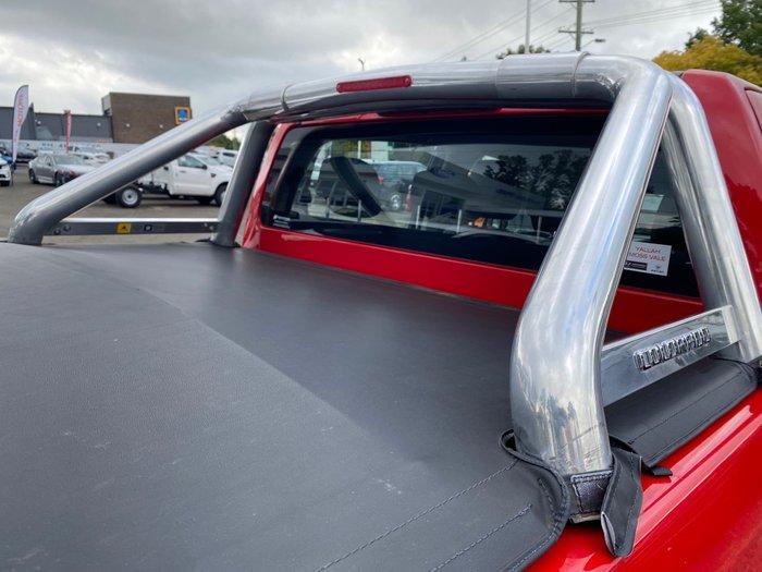 2017 Holden Colorado LTZ RG MY18 4X4 Dual Range Absolute Red
