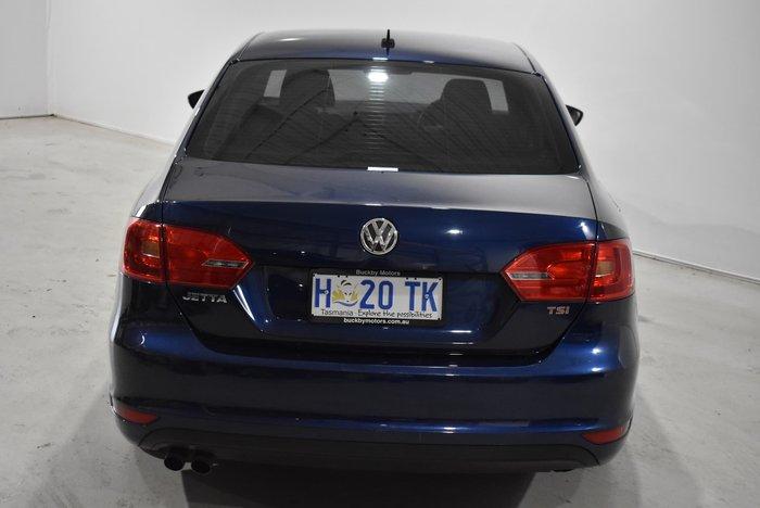 2013 Volkswagen Jetta 118TSI 1B MY14 Tempest Blue