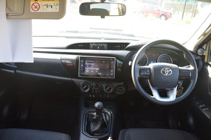 2016 Toyota Hilux SR GUN126R 4X4 Dual Range Silver Sky
