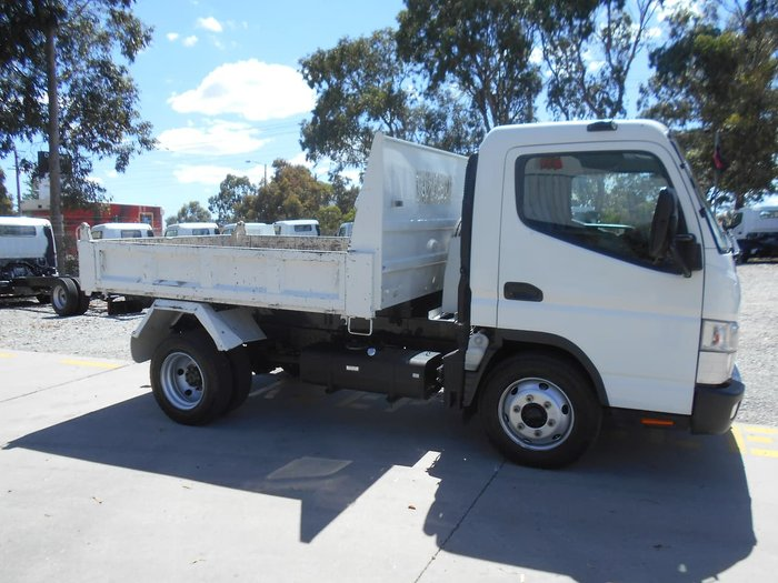 2012 FUSO CANTER 715 FACTORY TIPPER WHITE