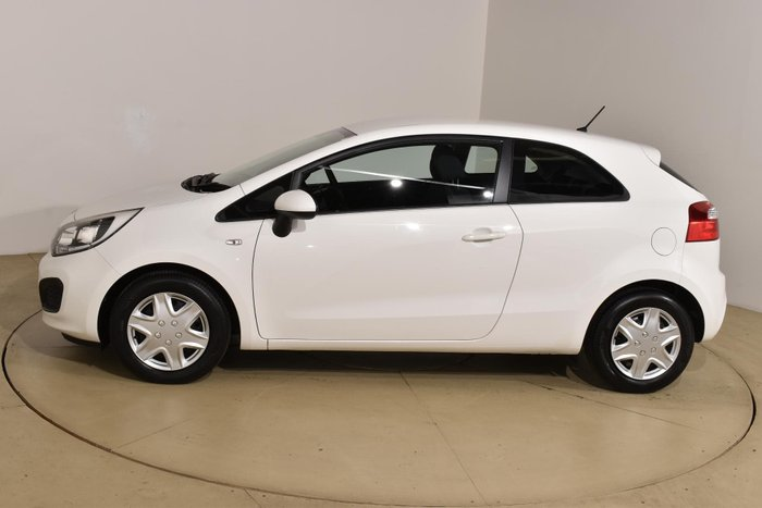 2014 Kia Rio S UB MY14 Clear White
