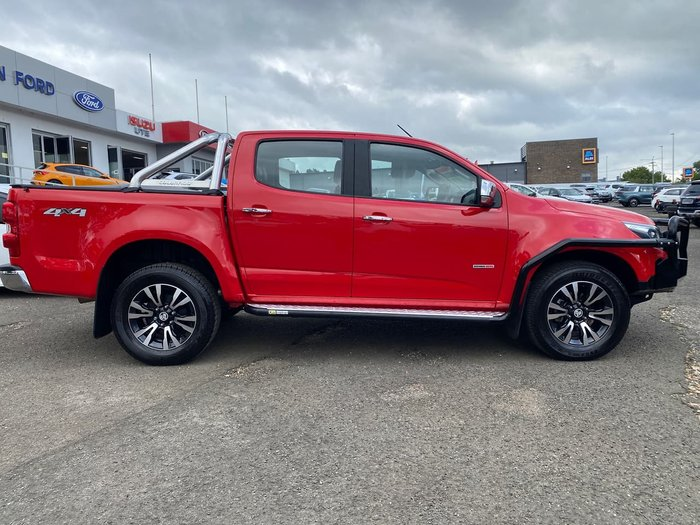 2017 Holden Colorado LTZ RG MY18 4X4 Dual Range Red
