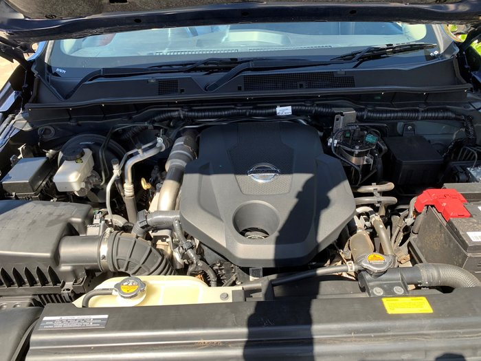 2015 Nissan Navara ST D23 4X4 Dual Range Deep Sapphire