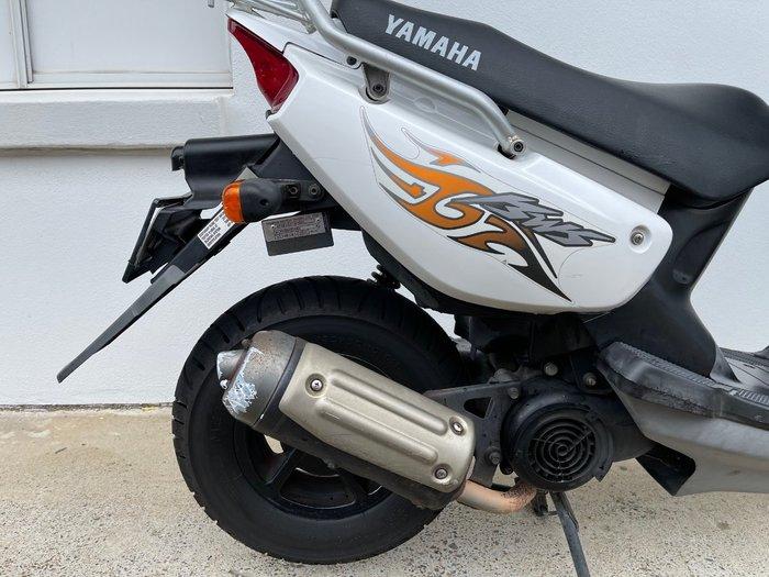 2009 Yamaha YW100 BEE WEE WHITE